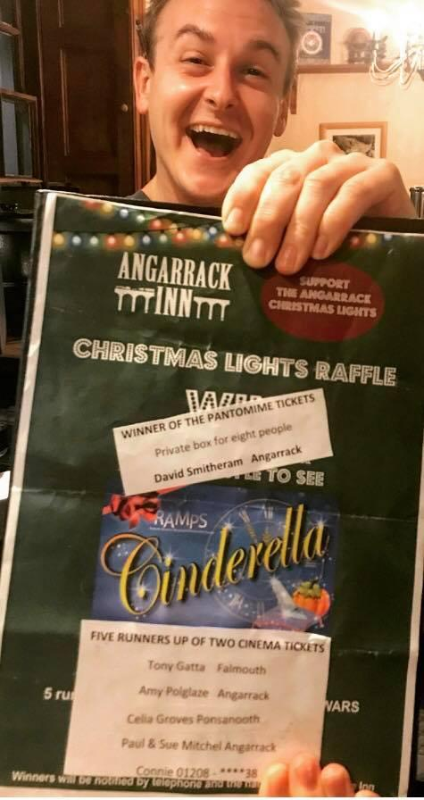 Congratulations to the winners of our Christmas raffle !